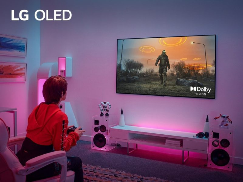 Nowa jakość gier na telewizorach premium LG dzięki najnowszej aktualizacji Dolby Vision