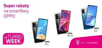 Startuje Turbo Week w T-Mobile ze zniżkami na smartfony OPPO