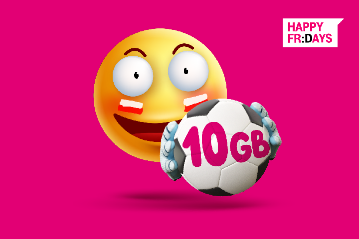 Bezpłatne 10 GB na EURO 2020 od T-Mobile