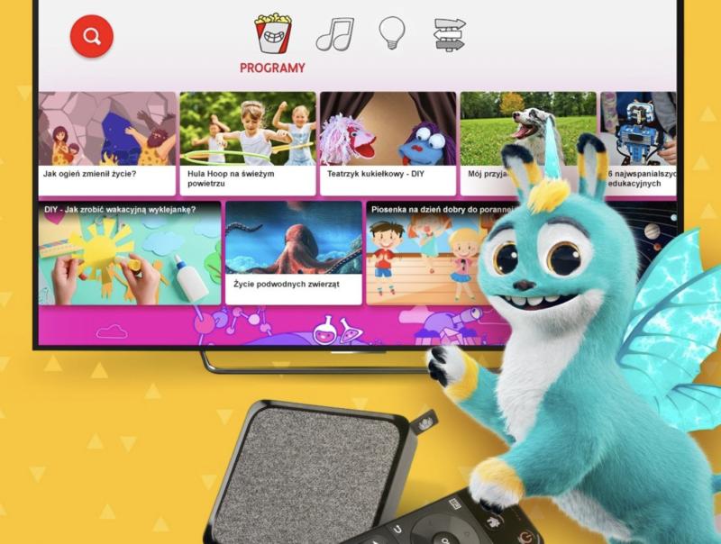 YouTube Kids dostępny na UPC 4K TV BOX