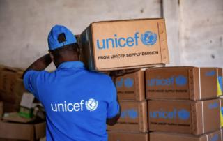 W 2020 roku UNICEF dostarczył na świecie produkty i usługi o rekordowej wartości niemal 4,5 mld dolarów