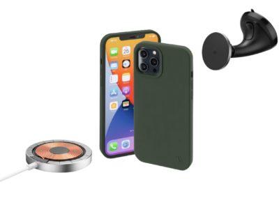 Ładowarka, futerały i uchwyt MagLine Hama dla iPhone 12 – Estetyka i funkcjonalność
