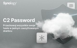Synology® wprowadza C2 Password