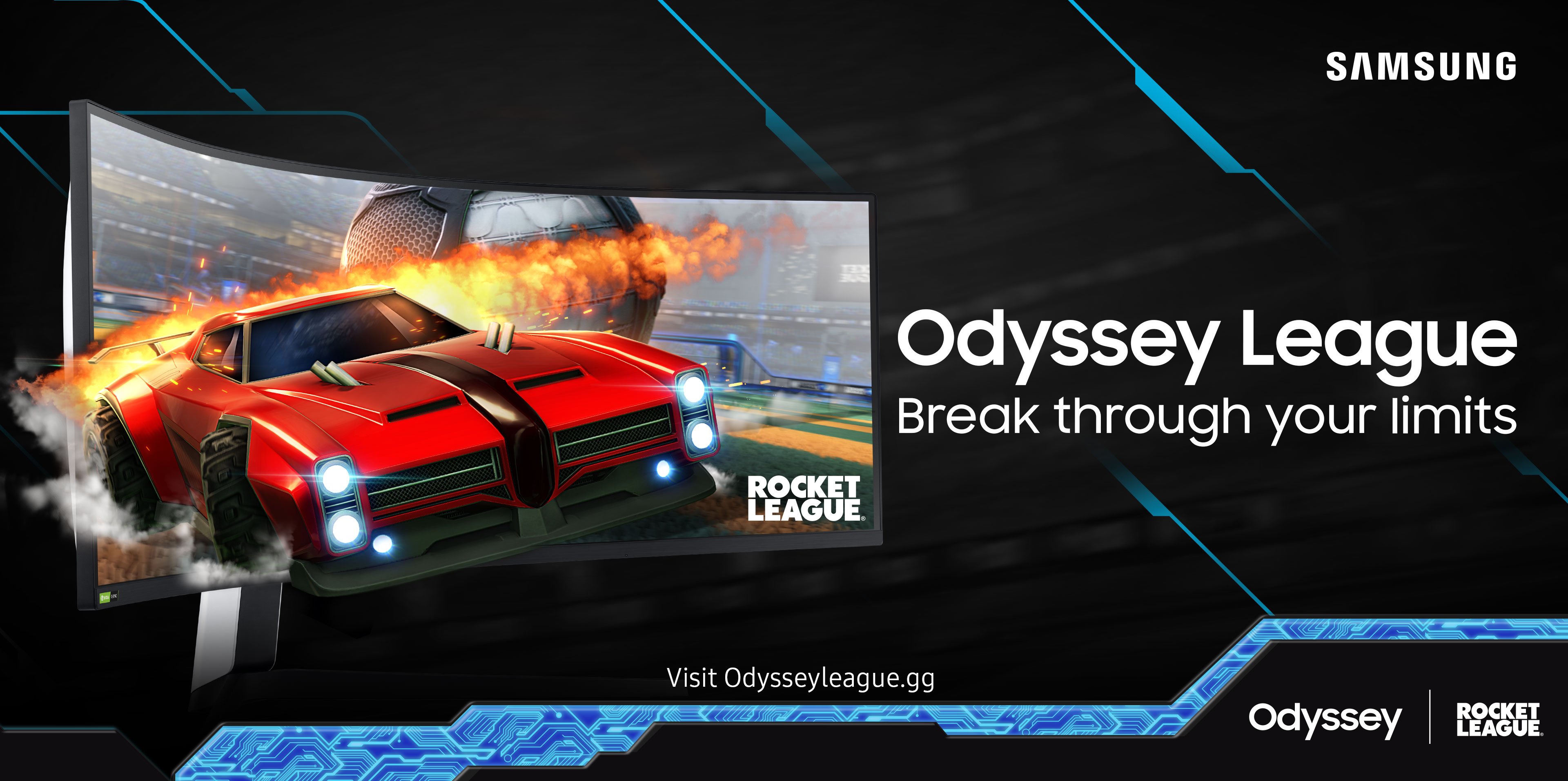 Samsung Odyssey League powraca – tym razem w ramach gry Rocket League