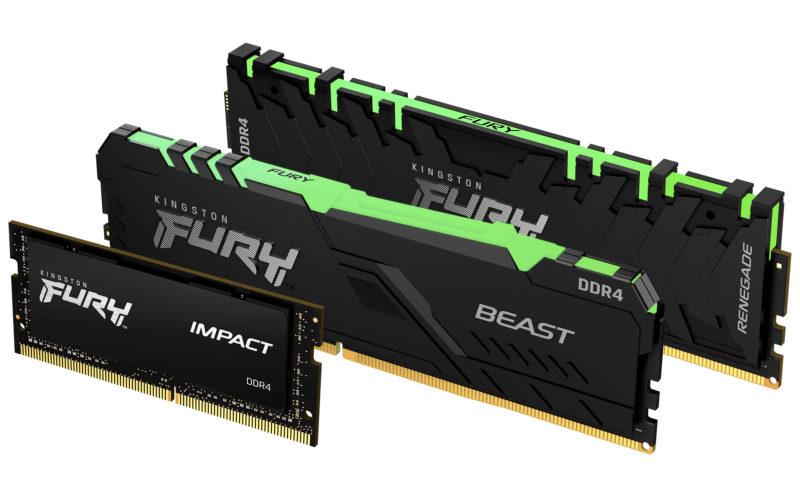 Nowa oferta Kingston FURY już dostępna – Moduły pamięci z nowej serii zwiększają wydajność systemów