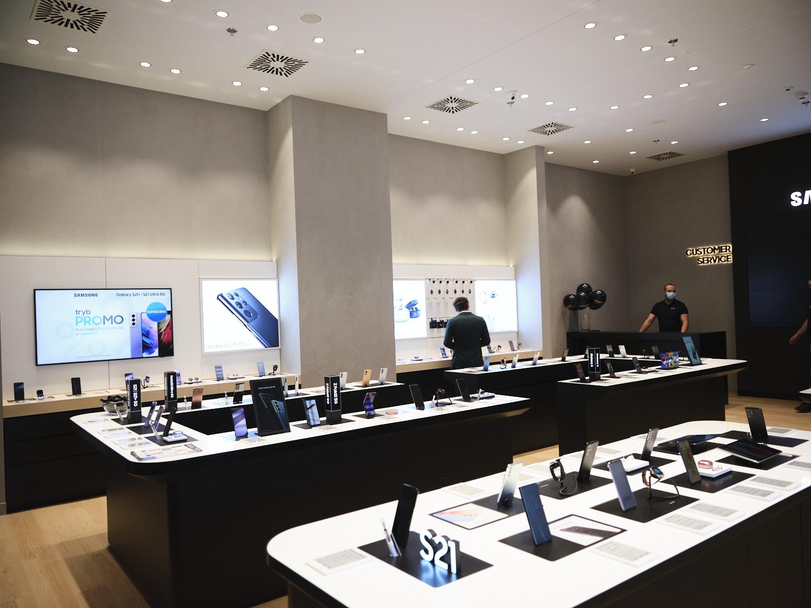 Samsung otwiera Brand Store w Kraków Bonarka City Center