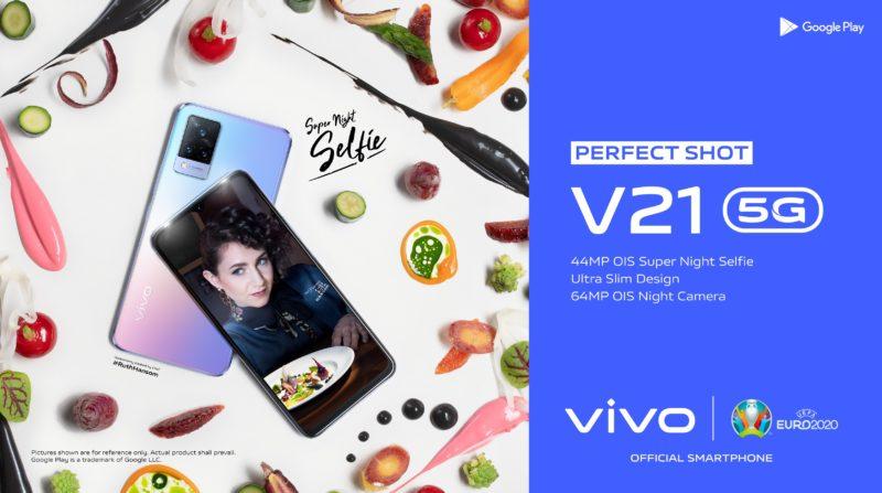 Perfect Shot Selfie: vivo przedstawia smartfon V21 5G