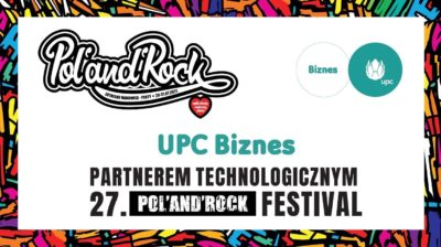 UPC Biznes po raz kolejny partnerem technologicznym Pol'and'Rock Festival