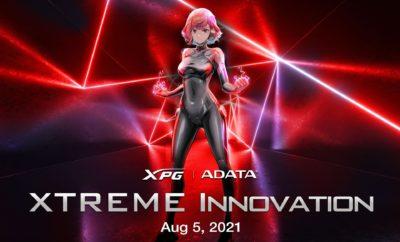 """ADATA zaprasza na Live stream """"Xtreme Innovation"""", który odbędzie się 5 sierpnia"""