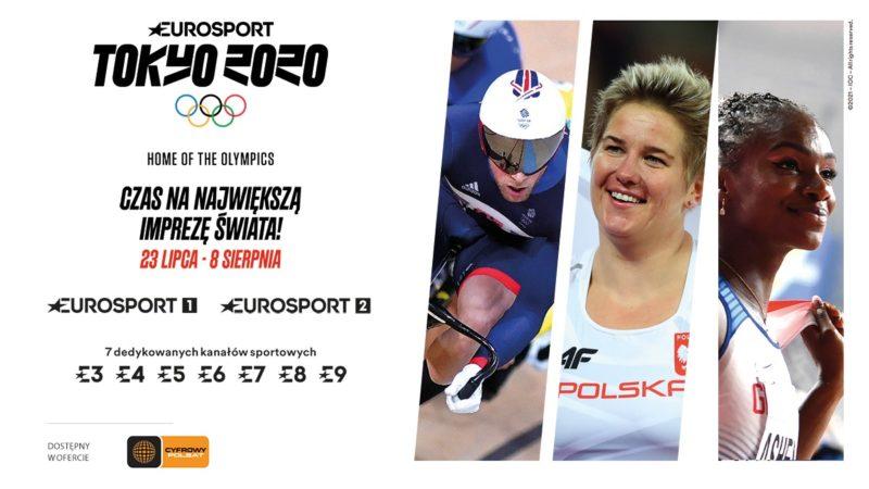 Siedem dodatkowych kanałów Eurosport z Igrzyskami Olimpijskimi dla wszystkich abonentów Cyfrowego Polsatu