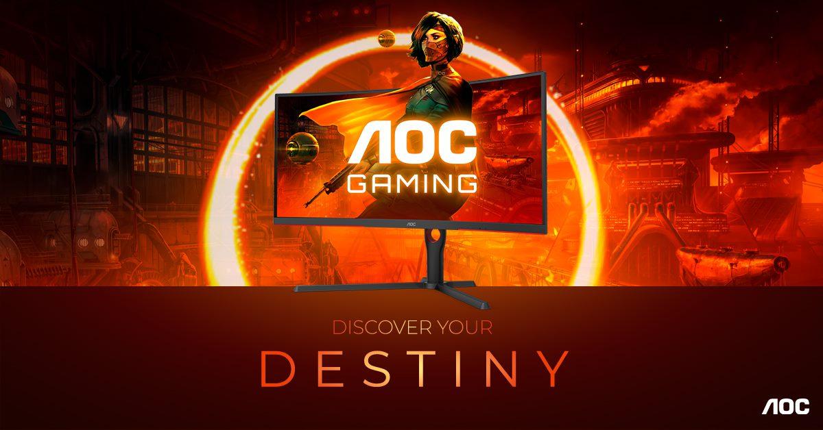 AOC GAMING G3: nowa seria monitorów z 165 Hz i zakrzywieniem 1000R