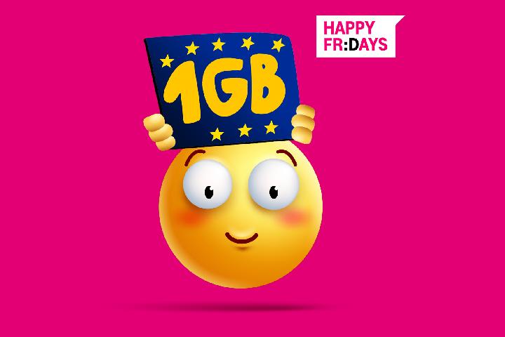 Odbierz bezpłatny pakiet 1 GB w roamingu w UE od T-Mobile