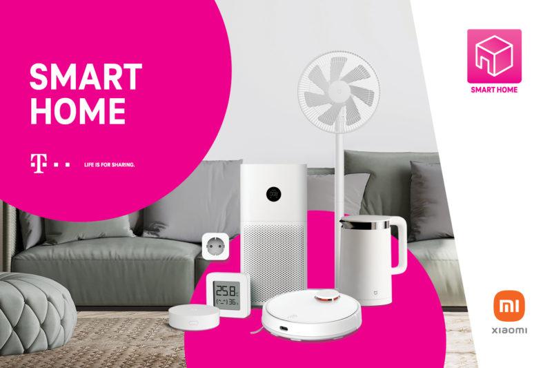 """Cały dom do Twoich usług – T-Mobile rozszerza program """"Korzyści dla domu"""" o zestawy smart home od Xiaomi"""