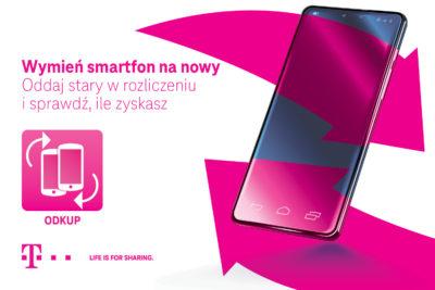 T-Mobile startuje z nową akcją zero-waste: Oddaj stary smartfon, zadbaj o środowisko i zyskaj środki na nowy sprzęt