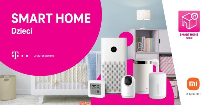 zestaw smart home t mobile i xiaomi dzieci