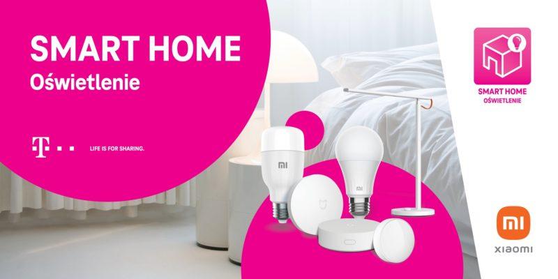 zestaw smart home t mobile i xiaomi oswietlenie