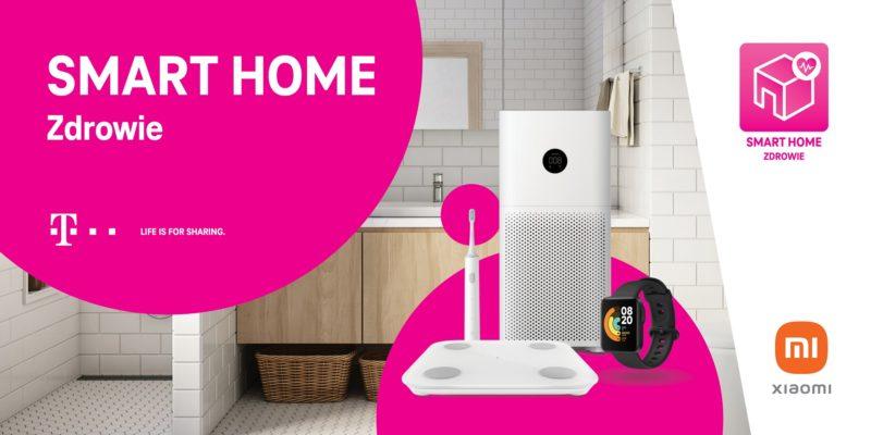 zestaw smart home t mobile i xiaomi zdrowie