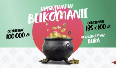 Rusza BLIKOMANIA: rekordowa pula nagród, ponad 2 mln zł do wygrania