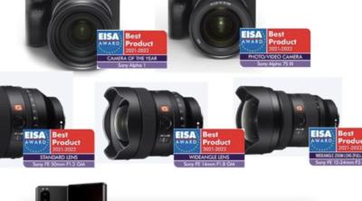 """Firma Sony zdobywcą siedmiu nagród w konkursie EISA 2021, w tym w prestiżowej kategorii """"Aparat roku"""" za korpus α1"""