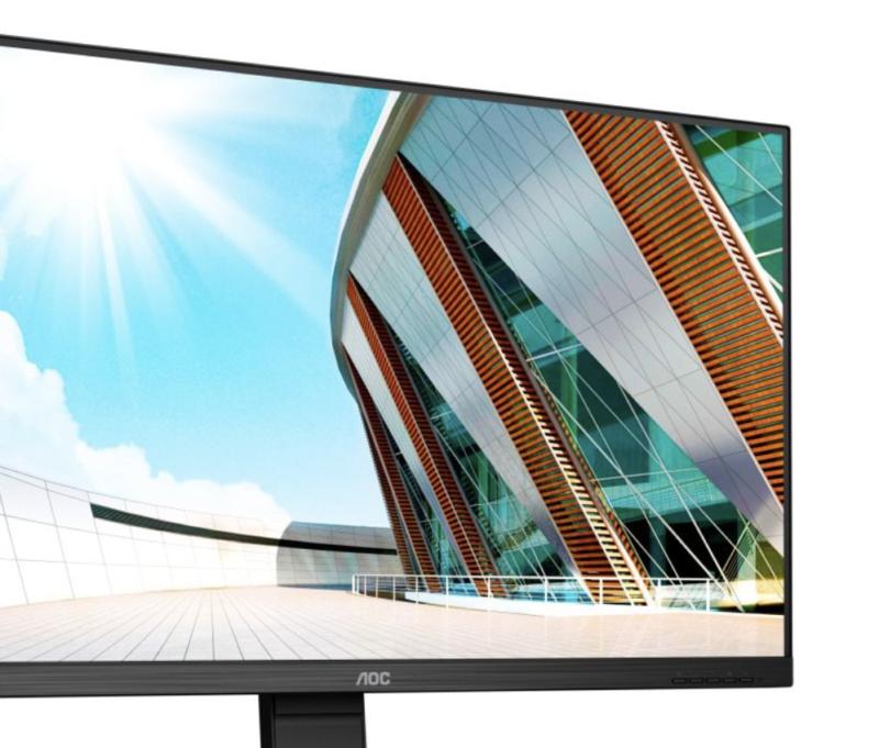 AOC – nowe monitory 4K i QHD ze złączem USB-C