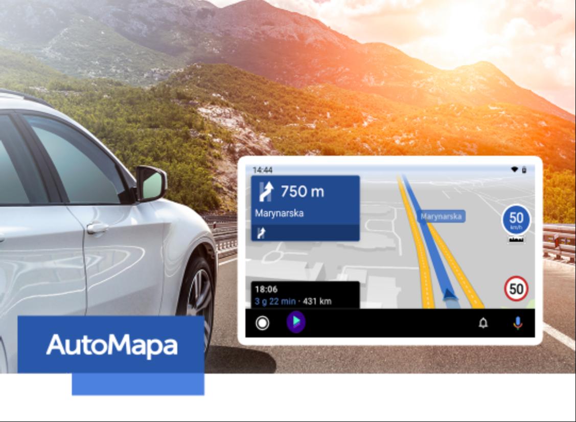 AutoMapa wreszcie w Android Auto dla wszystkich