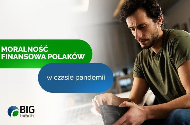 Moralność finansowa Polaków w czasie pandemii