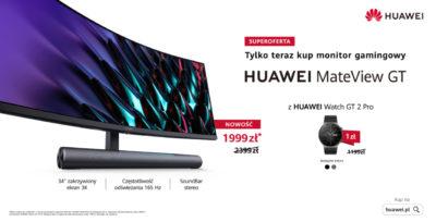 Pierwsze monitory premium od Huawei – MateView i MateView GT w sprzedaży w Polsce