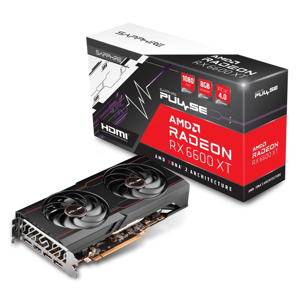 SAPPHIRE PULSE AMD Radeon RX 6600 XT – wydajna karta do grania w Full HD