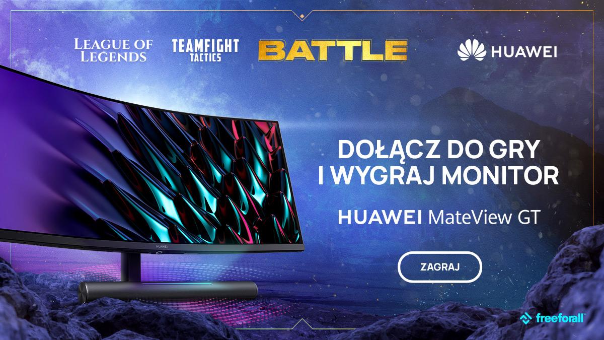 Nagrody pieniężne na łączną kwotę 12 000 zł oraz nagrody rzeczowe – rusza turniej gamingowy Huawei