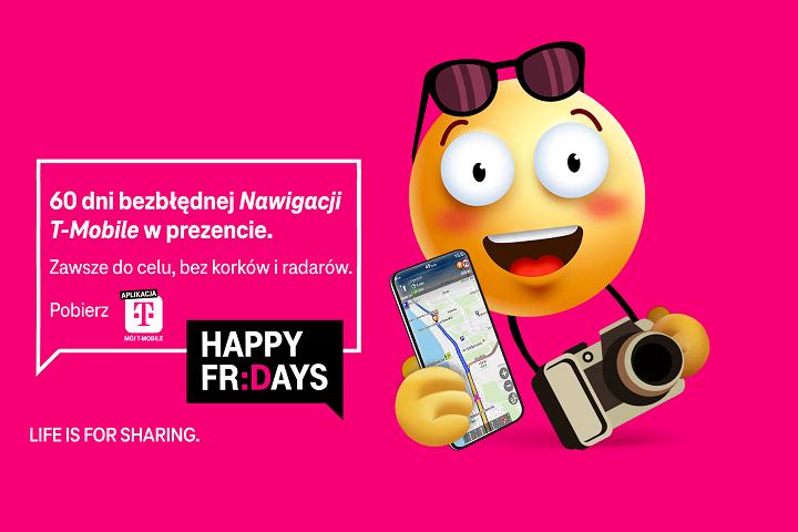 Dostęp do Nawigacji T-Mobile na 60 dni w prezencie