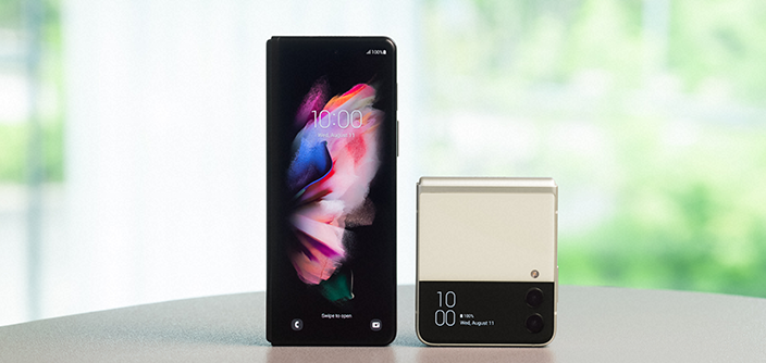 Otwórz się na więcej z Galaxy Z Fold3 5G i Galaxy Z Flip3 5G