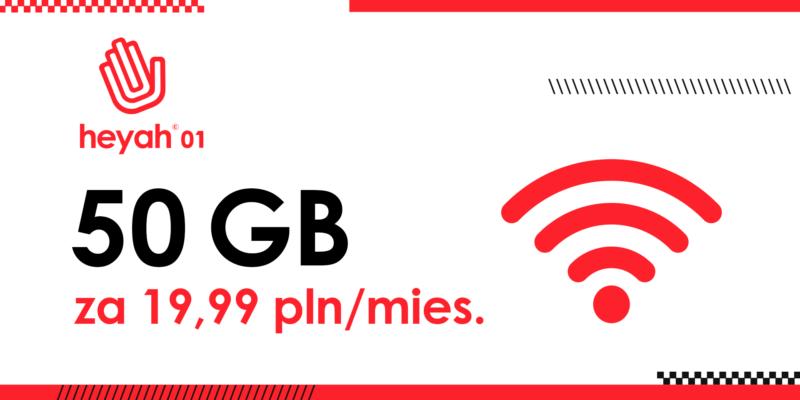 heyah 01 z nowa oferta internetowa z 50 gb za 1999 zl