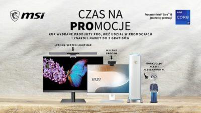 Nowa linia produktów MSI Modern – wakacyjne PROmocje