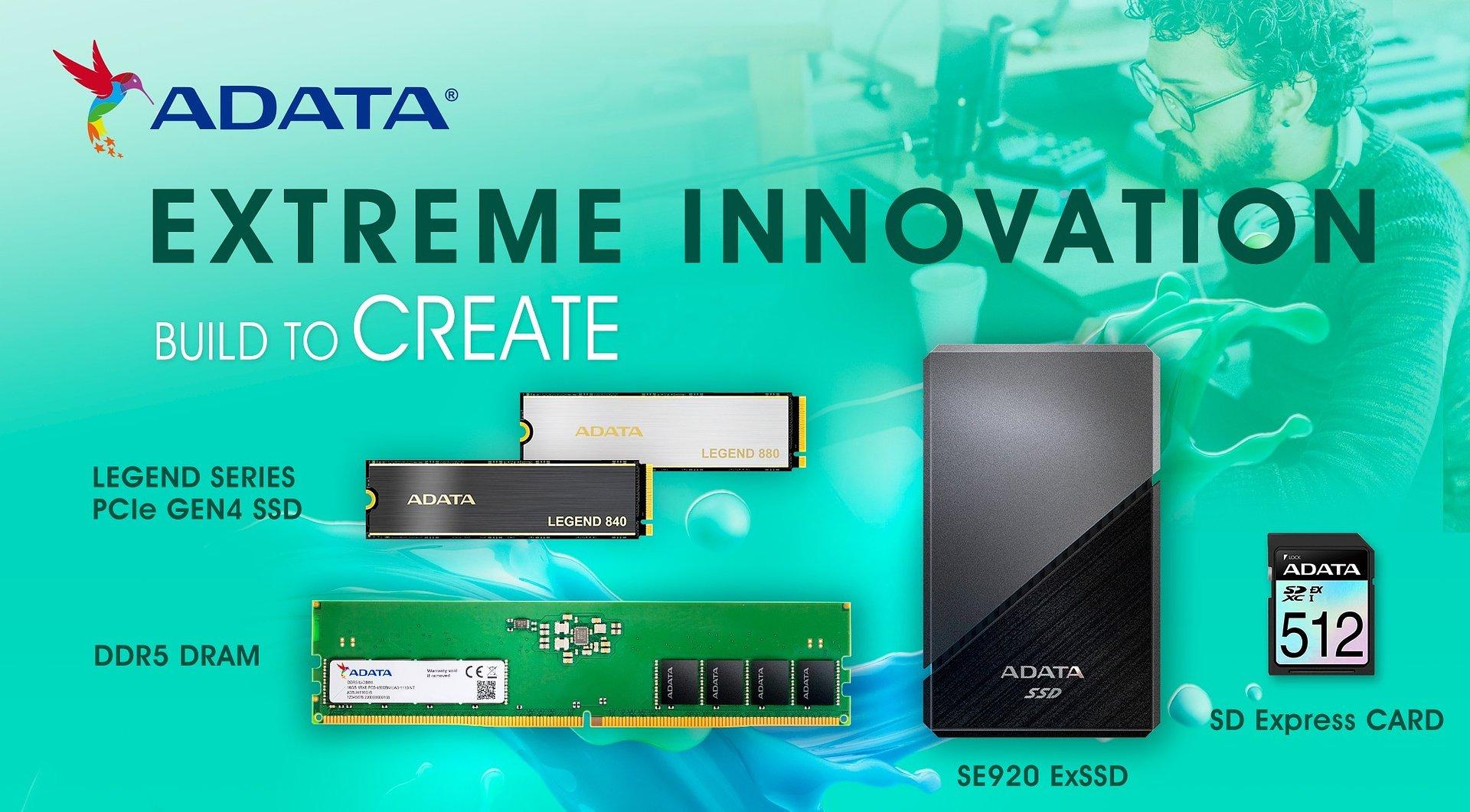 """Xtreme Innovation"": nowe produkty od ADATA i XPG"