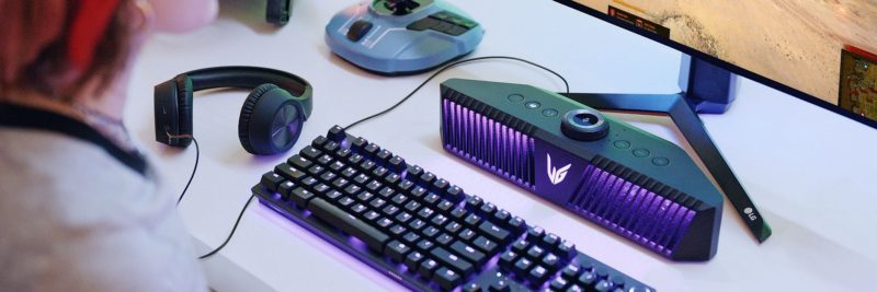 LG oferuje nowy głośnik gamingowy UltraGear™ – immersyjność wkracza na zupełnie nowy poziom
