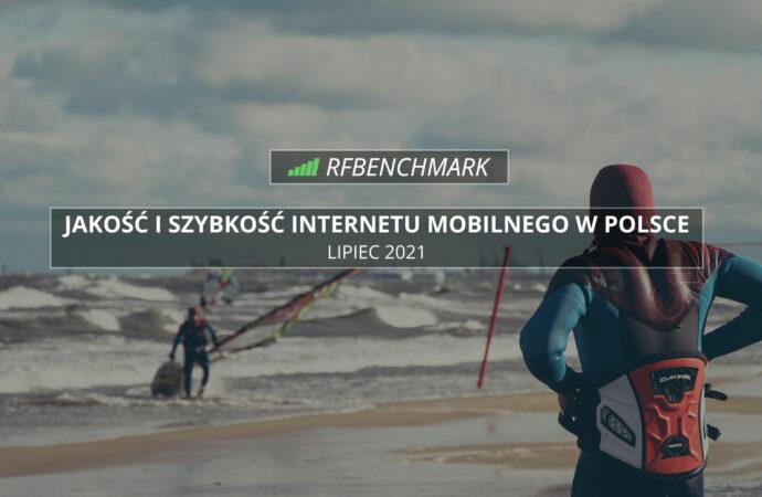 T-Mobile umocnił się na prowadzeniu – Internet mobilny w Polsce (lipiec 2021)