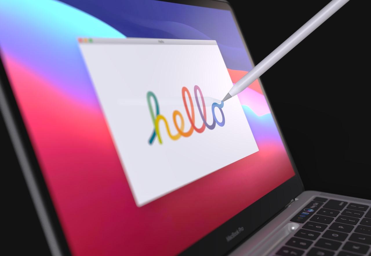 Rysik zamiast paska Touch Bar w MacBooku Pro?