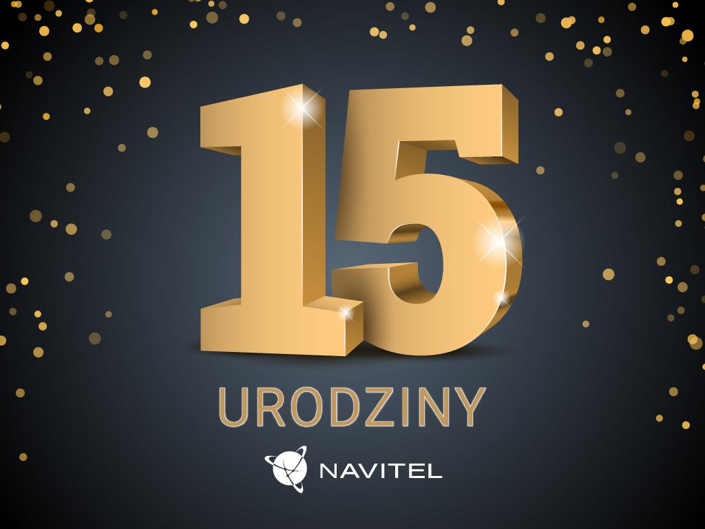 15. urodziny firmy NAVITEL®