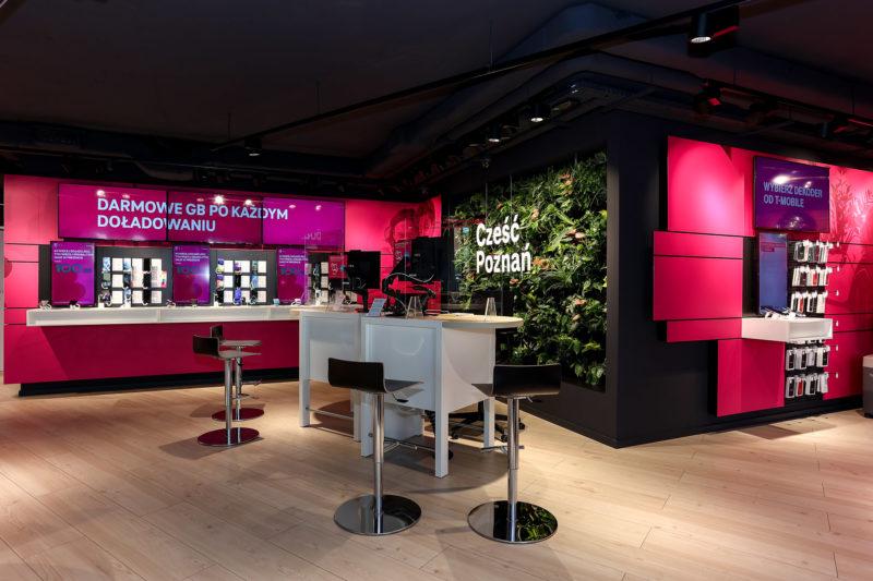 T-Mobile otworzył swój największy i najbardziej nowoczesny salon w Poznaniu