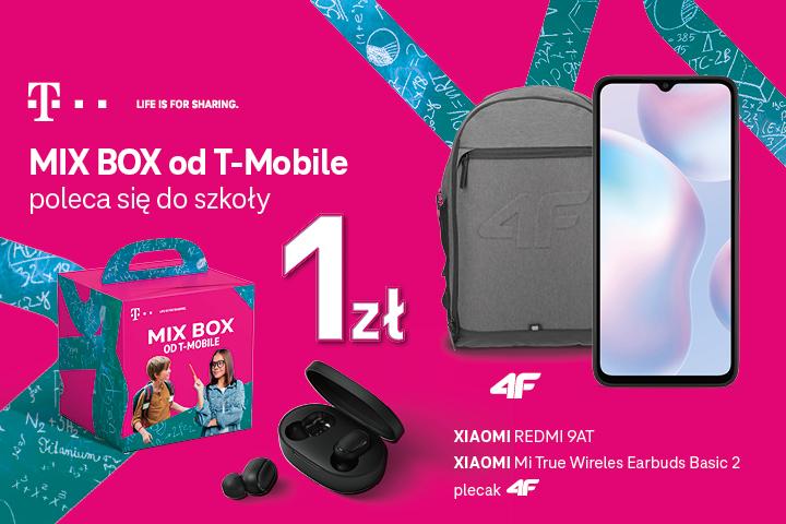 MIX BOX od T-Mobile poleca się do szkoły
