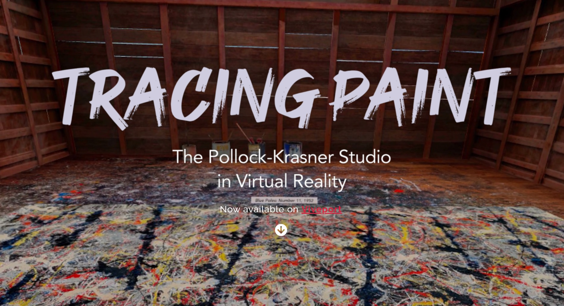 Odwiedź wirtualną pracownię, w której dwoje legendarnych malarzy ekspresjonizmu abstrakcyjnego zmieniło bieg historii sztuki