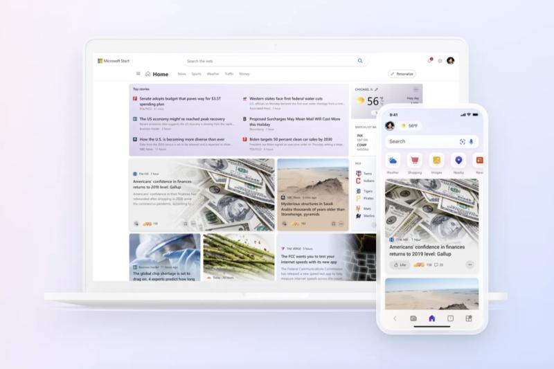 Microsoft zapowiada nową usługę – agregat wiadomości Microsoft Start