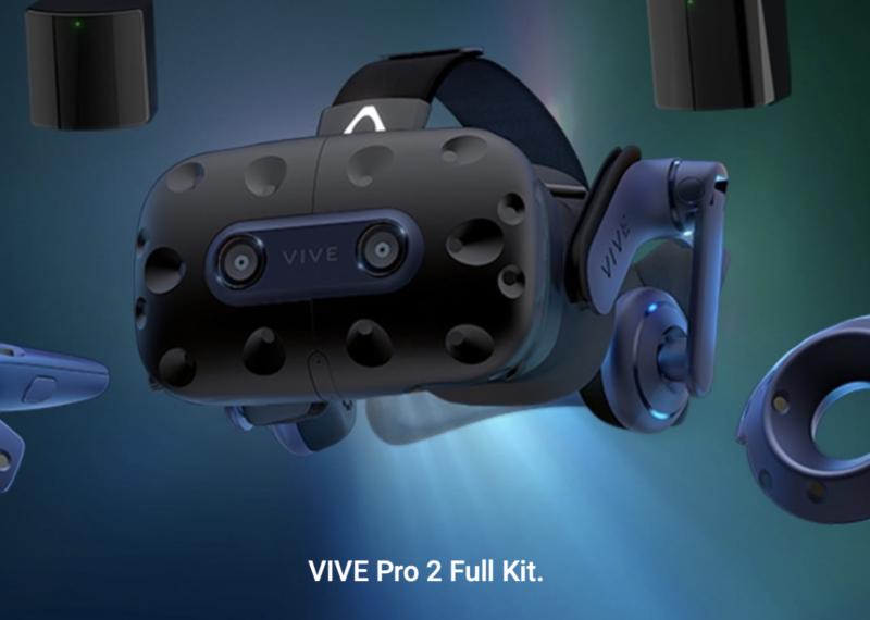 Zestaw HTC VIVE Pro 2 Full Kit trafia do sprzedaży