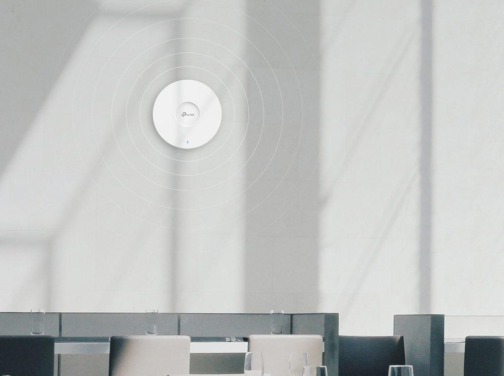 TP-Link EAP610 i EAP615-Wall - nowe punkty dostępowe WiFi 6 z serii Omada EAP