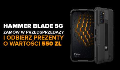Rusza przedsprzedaż Blade'a 5G z gratisami o wartości 550 zł