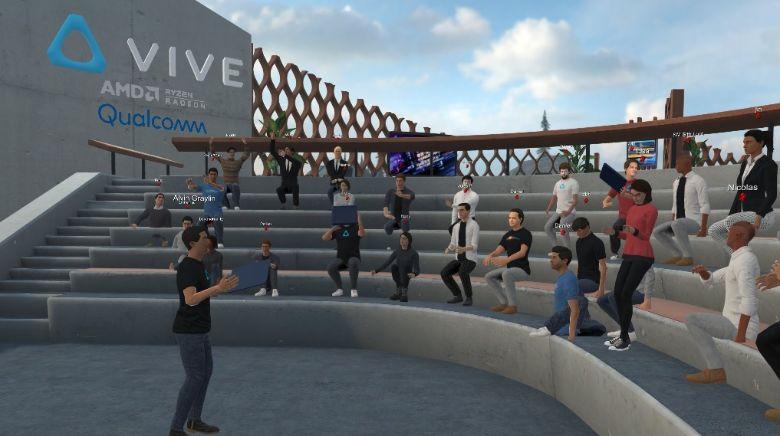 Magia immersji Program do spotkan w VR Vive Sync