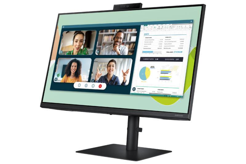 Samsung wprowadza do sprzedaży monitor do wideokonferencji