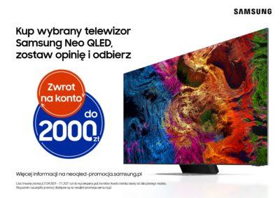 Wystartowała kampania promująca telewizory Neo QLED
