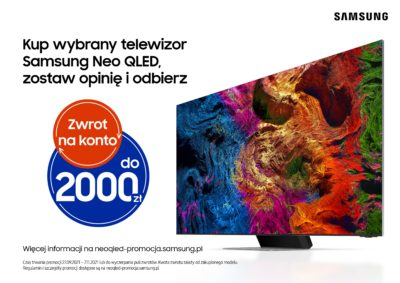 Startuje promocja na telewizory Neo QLED
