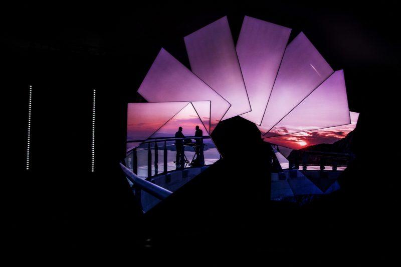 Samsung ExperienceNewPerspectives Sunset screens
